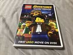 Lego: The Adventures Of Clutch Powers DVD 2010 $5.00