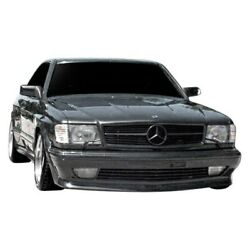 For Mercedes-benz 560sec 86-91 Amg Style Fiberglass Wide Body Kit Unpainted