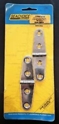 Seachoice 4 304 Stamped Stainless Steel Strap Hinges