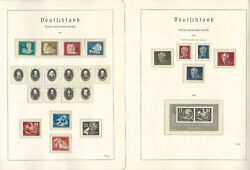Germany Ddr Stamp Collection On 10 Hingless Lighthouse Pages 1949-53, Jfz