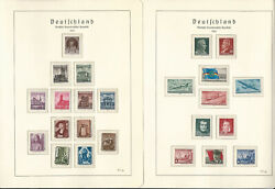 Germany Ddr Stamp Collection On 24 Hingless Lighthouse Pages 1955-59, Jfz