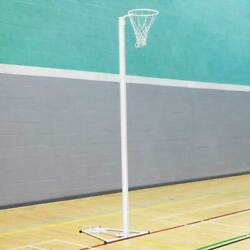 Forza Alu80 Netball Posts | Single Or Pair Andndash Socketed/fixed/freestanding Hoops