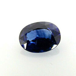 1x Sapphire - Blue Oval Facetted Vvs 162ct.0 1/4x0 5/16x0 1/8in 1296f M.