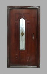 Steel Entrance Front Door Arch Lite With Welded Frame And Multipoint Lock 36