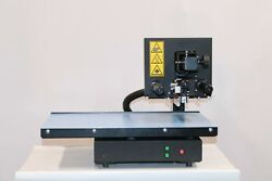 thermal Transfer Printer For Leather Plastic With 106mm Printing Head Embossing