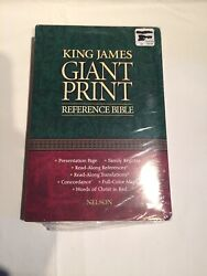 New Holy Bible King James Version Giant Print Red Letter Edition Regency 885cbg