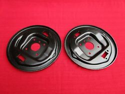 Nice Matched Pair Of Reconditioned Oem Front Drum Brake Backing Plates Mga 1500