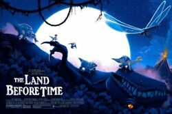 The Land Before Time Limited Giclee Print Art Film Poster 250 36 X 24