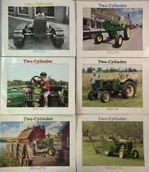 Complete Year John Deere Tractor Collector Club Magazine Two Cylinder 1993