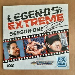 Pro Wrestling Crate Dvd Legends Of Extreme Ecw Autograph Tommy Dreamer