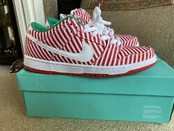 Nike Sb Dunk Low Andldquocandy Caneandrdquo Rare Size 10 Great Condition