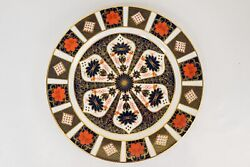 Royal Crown Derby Old Imari 1128 Chop Plate Platter 14 D Free Usa Shipping