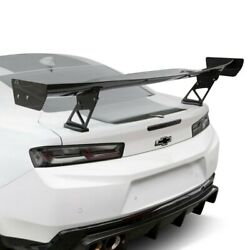For Chevy Camaro 16-20 Apr Performance Gtc-300 Carbon Fiber Adjustable Rear Wing