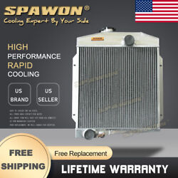 4row Spawon Radiator For International Harvester Scout 4cyl 1961-1971