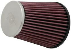 K And N Rc-5131 Universal Round Tapered Air Filter Chrome End Cap