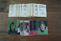 Ava Americana Football Special 79 Stickers From 1979 - Vgc - Pick Your Stickers