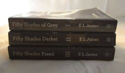 Fifty Shades Of Grey Trilogy Set Fifty Shades Darker Fifty Shades Freed Lot