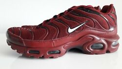 Nike Air Max Plus Team Red 852630-602 Mens Running Shoes Size Us 8.5 Us 10