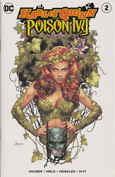 Harley Quinn And Poison Ivy 2 Jay Anacleto Exclusive Variant Comic Dc Comics