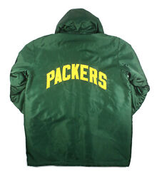 Early 1970's Green Bay Packers Vintage Game Used Sideline Jacket Cape Mears Loa