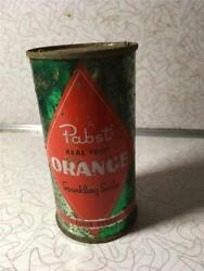 Pabst Orange 10 Oz Flat Top Soda Can Pabst Brewing Co Milwaukee Wis