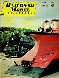 Railroad Model Craftsman Magazine January 1969 Galloping Geese Of The North Sea