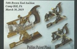 2019 Ppc Antique Tool And Sale Auction Of Phillips Patent Plows