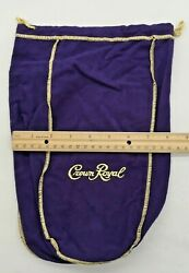 Crown Royal Purple amp; Gold Bags Lot of 36 $55.00