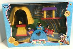 Mickey Mouse Clubhouse Train Track Train Set - New Complete