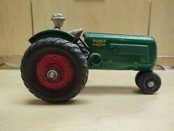Arcade Toys Cast Iron 356 Oliver Row Crop 70 Tractor With Rider Guc