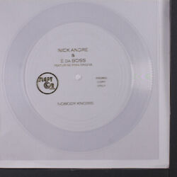 Nick Andre And E Da Boss Nobody Knows / Blank Slept On Records 7 Single 45 Rpm