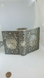 Very Rare 1825 Bible Made Of Sterling Silver.