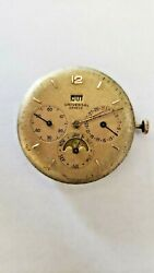 Universal Geneve Triple Calander With Moon Phase Very Rare