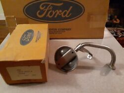 Ford Nos 1969 1970 1971 1972 F100 302 Oil Pump Pick Up Tube And Screen