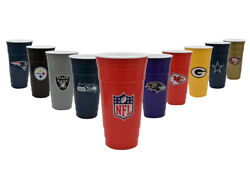 Nfl Party Cup Cowboys Patriots Raiders 49ers Packers Seattle Kc Ravens Steelers