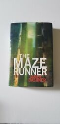 Signed The Maze Runner By James Dashner Hardcover First Print/first Edition