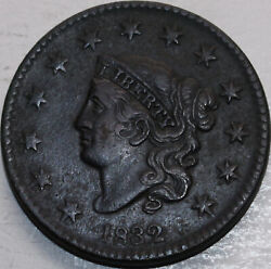 1832 Large Cent Coronet Head Large Letters. Youand039ll Receive The Coin Shown