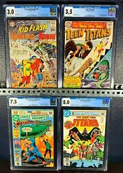 1st Appearance Teen Titans Key Lot Brave And The Bold 54 Dc Comics 26 Cgc First