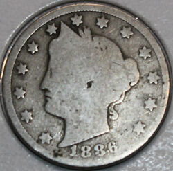 1886-p Liberty Nickel. You Will Receive The Coin Shown