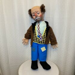 Vintage 1950s Emmett Kelly Willie The Clown Hobo Baby Barry Toy Doll