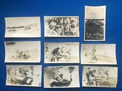 Lot 5 - Unpublished Photos 1929 Charles Lindbergh Pan American Paa Sikorsky S-38