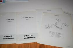 Simplicity 4040 And 4041 Tractor Parts Parts Manual Group Of Manuals