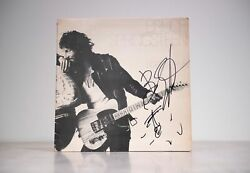 Bruce Springsteen Signed Born To Run Vinyl Beckett Authentication Services Bas