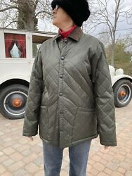 David Taylor Collection Men's Longsleeve Quilted Nylon Winter Jacket Size S