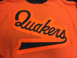 New Deadstock Nwot One Size Vintage Quakers Very Rare Hockey Sweater Vtg Ccm 90s