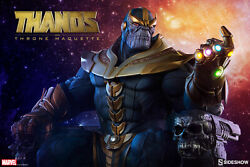 💎 Thanos On Throne 💎 Sideshow Collectibles 💎 Avengers 💎 Marvel 💎 Statue