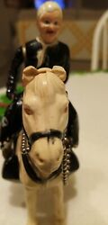 Hopalong Cassidy And His Horse Topper Ideal Toy No Box, No Hat