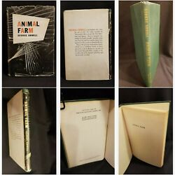 Animal Farm By George Orwell 1946 First American Edition Harcourt, Brace And Co