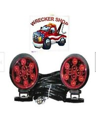 Magnetic Led Tow Lights For Wrecker Tow Truck And More - Commercialgrade