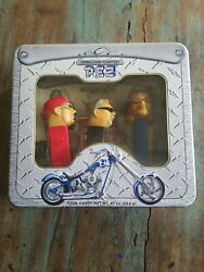 Vintage Orange County Choppers Limited Edition Pez Set New Old Stock